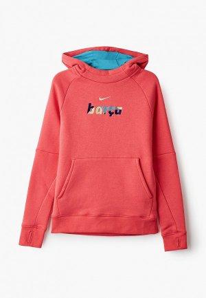 Худи Nike. Цвет: коралловый