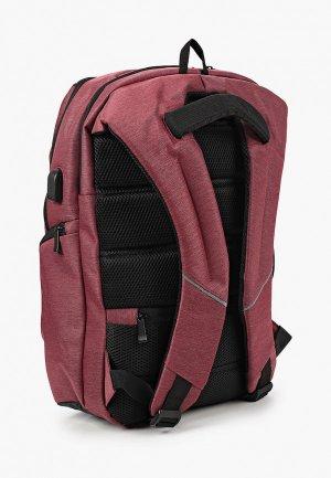 Рюкзак Polar. Цвет: бордовый