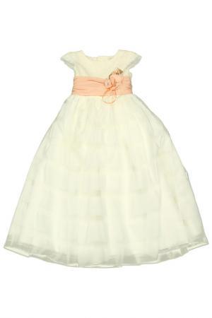 Платье DE SALITTO. Цвет: молочный