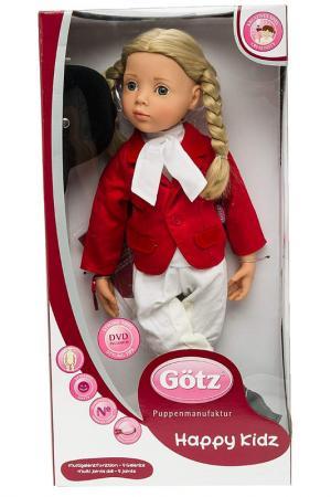 Кукла Анна Gotz. Цвет: красный