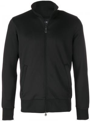 Спортивная куртка на молнии Hydrogen. Цвет: чёрный
