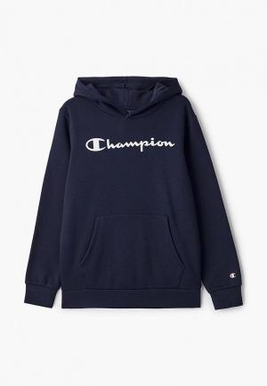 Худи Champion. Цвет: синий