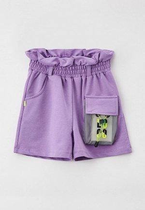 Шорты Dali. Цвет: фиолетовый