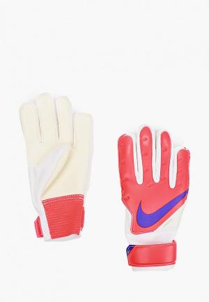 Перчатки вратарские Nike. Цвет: разноцветный