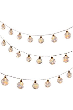 Лампочки декоративные MIA. Цвет: белый