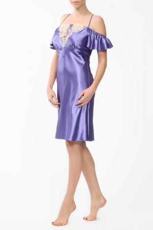 Ночная сорочка MARC&ANDRE. Цвет: фиолетовый