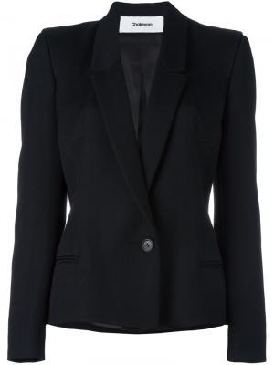 Приталенный пиджак Chalayan. Цвет: чёрный