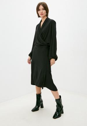 Платье By Malene Birger. Цвет: черный