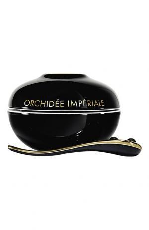 Крем Orchidée Impériale Black в фарфоровой упаковке Guerlain. Цвет: бесцветный