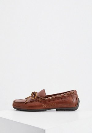 Топсайдеры Polo Ralph Lauren. Цвет: коричневый