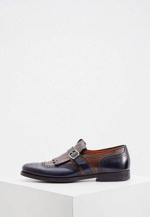 Туфли Santoni. Цвет: разноцветный