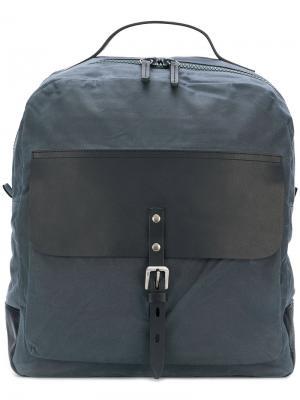 Рюкзак на молнии Ally Capellino. Цвет: синий