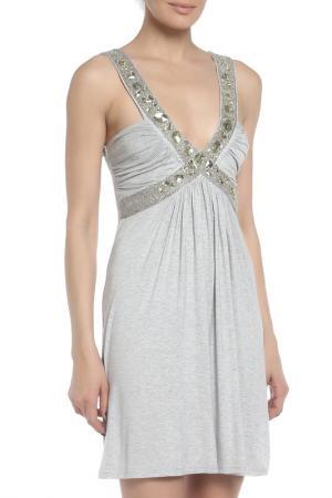 Платье Faith Connexion. Цвет: серый