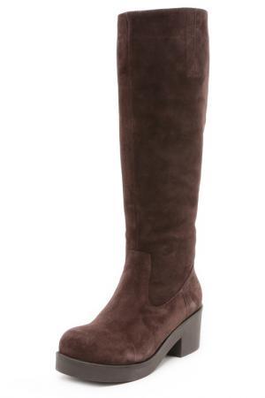 Сапоги ALBA. Цвет: темно-коричневый