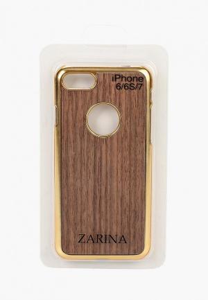 Чехол для iPhone Zarina. Цвет: коричневый