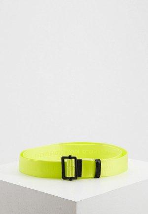 Ремень Karl Lagerfeld. Цвет: желтый