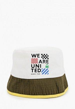 Панама United Colors of Benetton. Цвет: белый