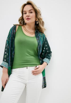 Майка Elena Miro. Цвет: зеленый