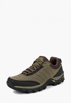 Ботинки трекинговые Ascot. Цвет: зеленый