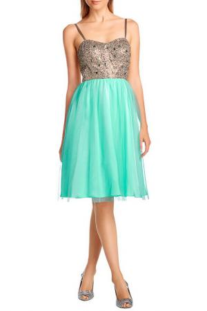 Платье Apart. Цвет: золотистый