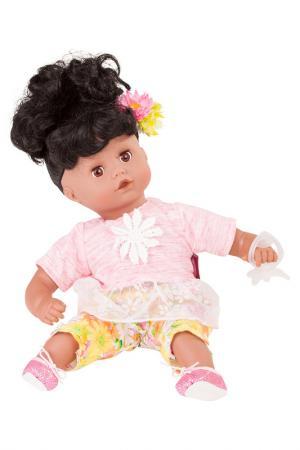 Кукла Маффин, брюнетка Gotz. Цвет: бордовый