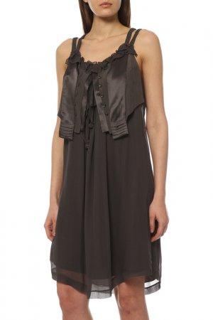 Платье GUSTAV. Цвет: серый