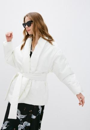 Куртка утепленная Imocean. Цвет: белый