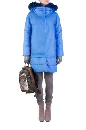 Куртка MARCO DEL FORTE. Цвет: синий