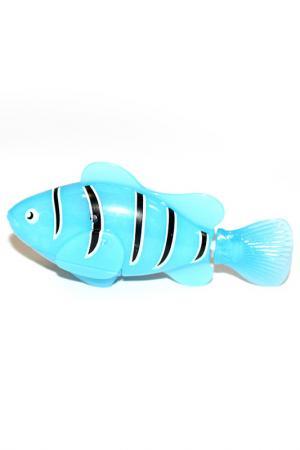 Рыбка-робот «Funny fish» BRADEX. Цвет: голубой