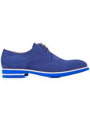 Туфли со шнуровкой Dario B Store. Цвет: синий