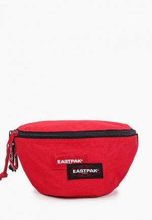 Сумка поясная Eastpak. Цвет: красный