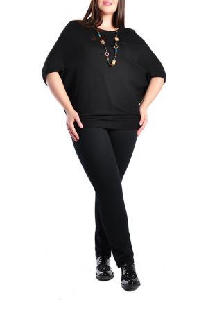 Блуза Forus. Цвет: черный