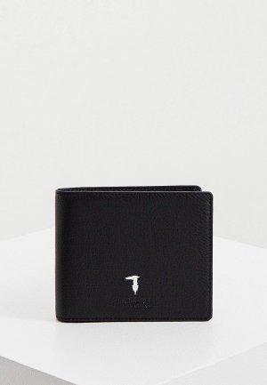 Кошелек Trussardi. Цвет: черный
