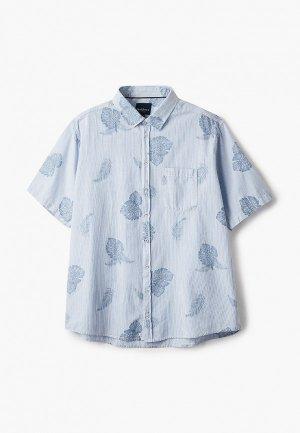 Рубашка North 56-4. Цвет: голубой
