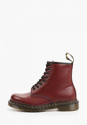 Ботинки Dr. Martens. Цвет: бордовый