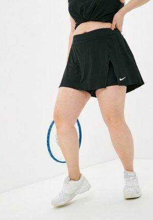 Юбка-шорты Nike. Цвет: черный
