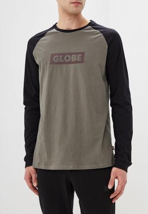 Лонгслив Globe. Цвет: серый
