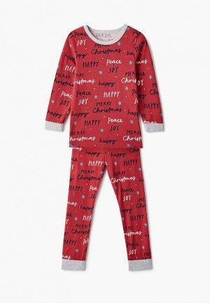 Пижама Cotton On. Цвет: красный