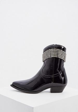 Ботильоны Chiara Ferragni Collection. Цвет: черный