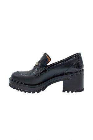 Туфли GIOVANNI FABIANI. Цвет: черный