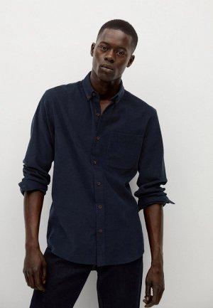 Рубашка Mango Man. Цвет: черный