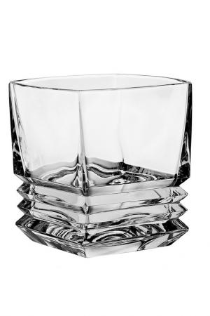 Набор для виски, 7 предметов CRYSTAL BOHEMIA. Цвет: прозрачный