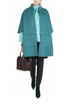 Куртка LUISA SPAGNOLI. Цвет: голубой