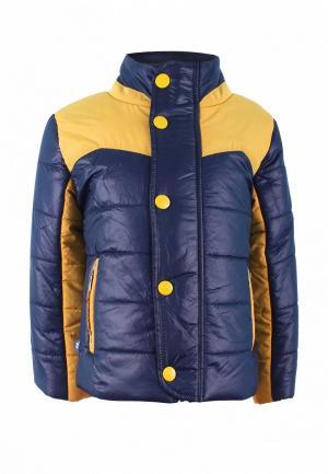 Куртка утепленная Irby Style. Цвет: синий