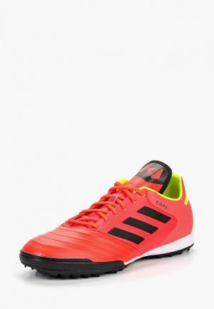 Шиповки adidas. Цвет: красный