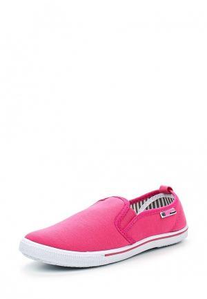 Слипоны Beppi. Цвет: розовый