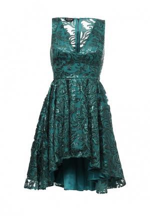 Платье Bebe. Цвет: зеленый