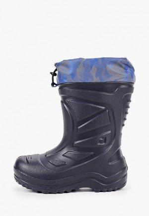 Резиновые сапоги Котофей. Цвет: синий