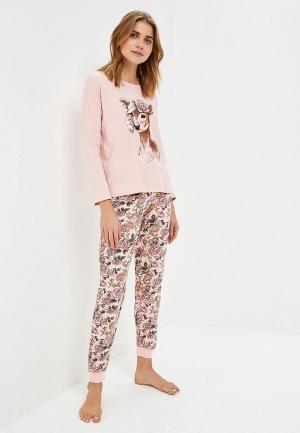 Пижама Sela. Цвет: розовый