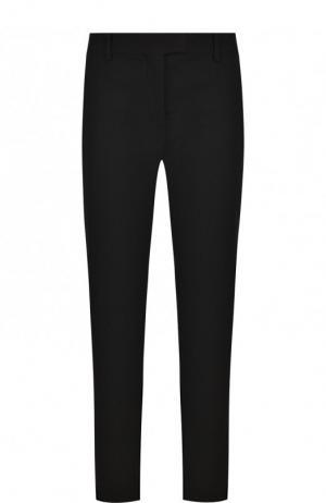 Укороченные однотонные брюки из шерсти Altuzarra. Цвет: черный